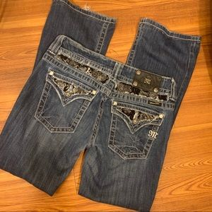 Miss Me Jeans Size 29 Boot Cut style Jp5002-13R